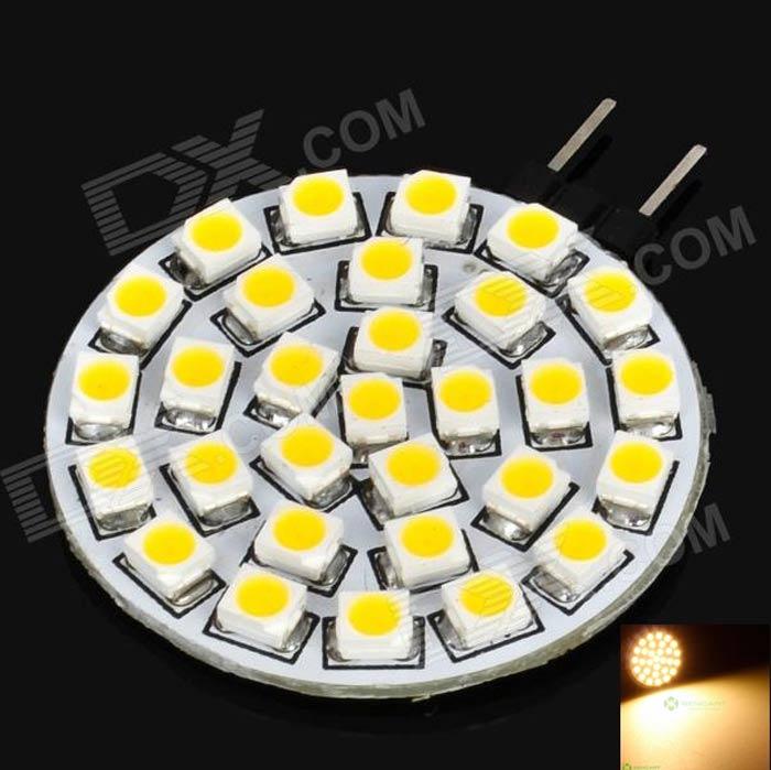 G4 1.8W 120-150LM 3000-3500K Warm White 30-SMD 3528 LED Light Bulb (12V)