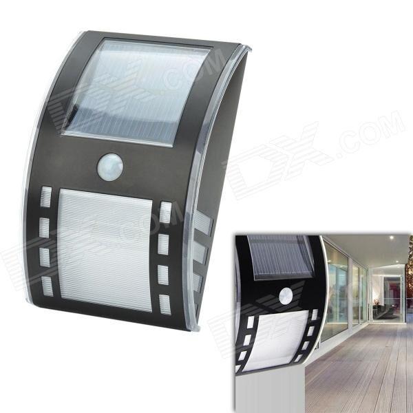 CMI 5W 12V 40lm 3500K 3-LED Motion Control Waterproof Warm White Solar Wall Lamp