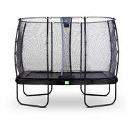 Suorakaide trampoliini EXIT Elegant 214x366cm Economy turvaverkolla