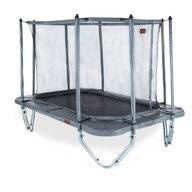 Pro-Line 3,4m x 2,4m suorakaide trampoliini turvaverkolla