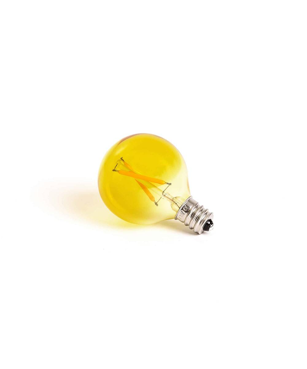 Seletti Lamppu LED 1W E12 Keltainen Mouse Lamp - Seletti