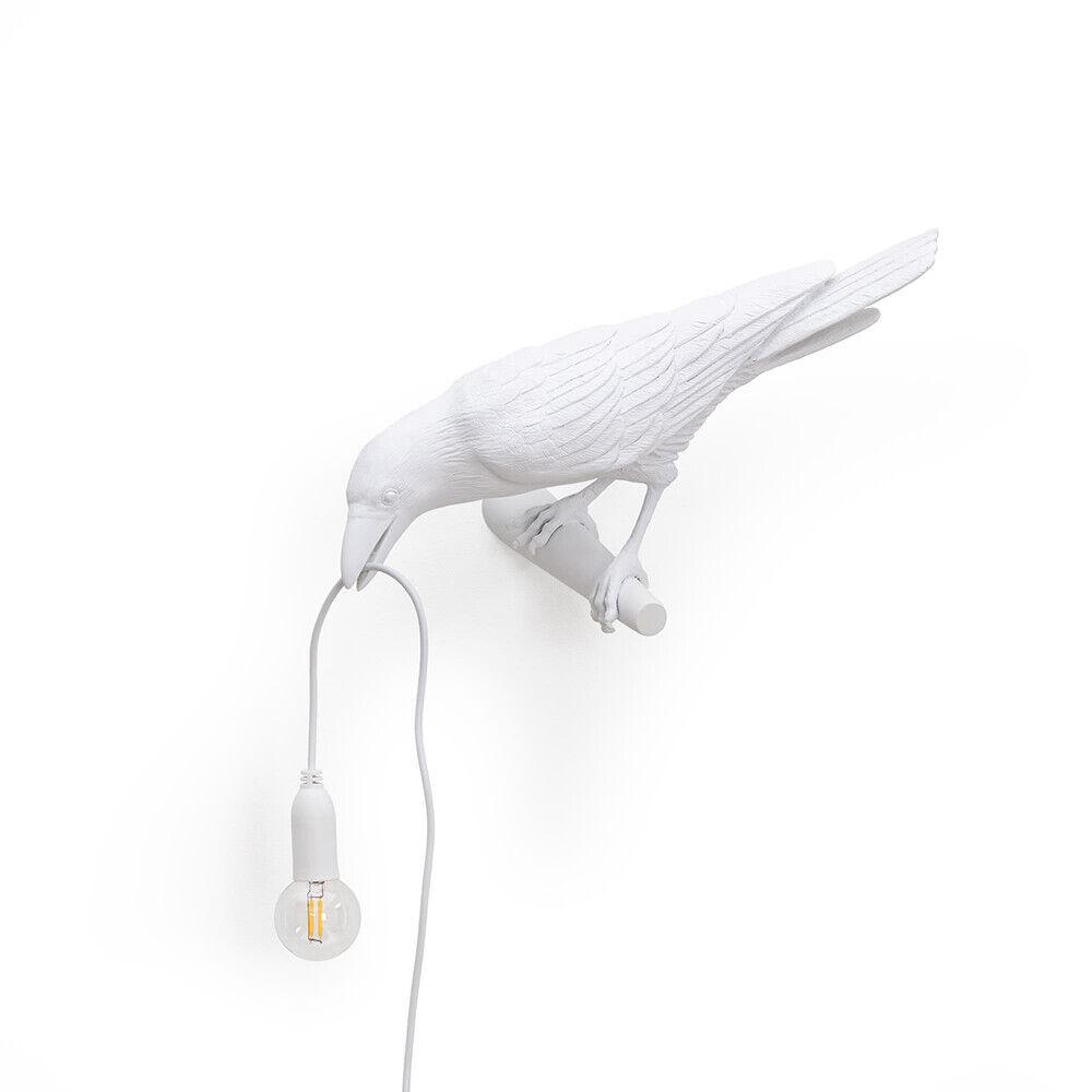 Seletti Bird Lamp Looking Left Seinävalaisin Valkoinen - Seletti