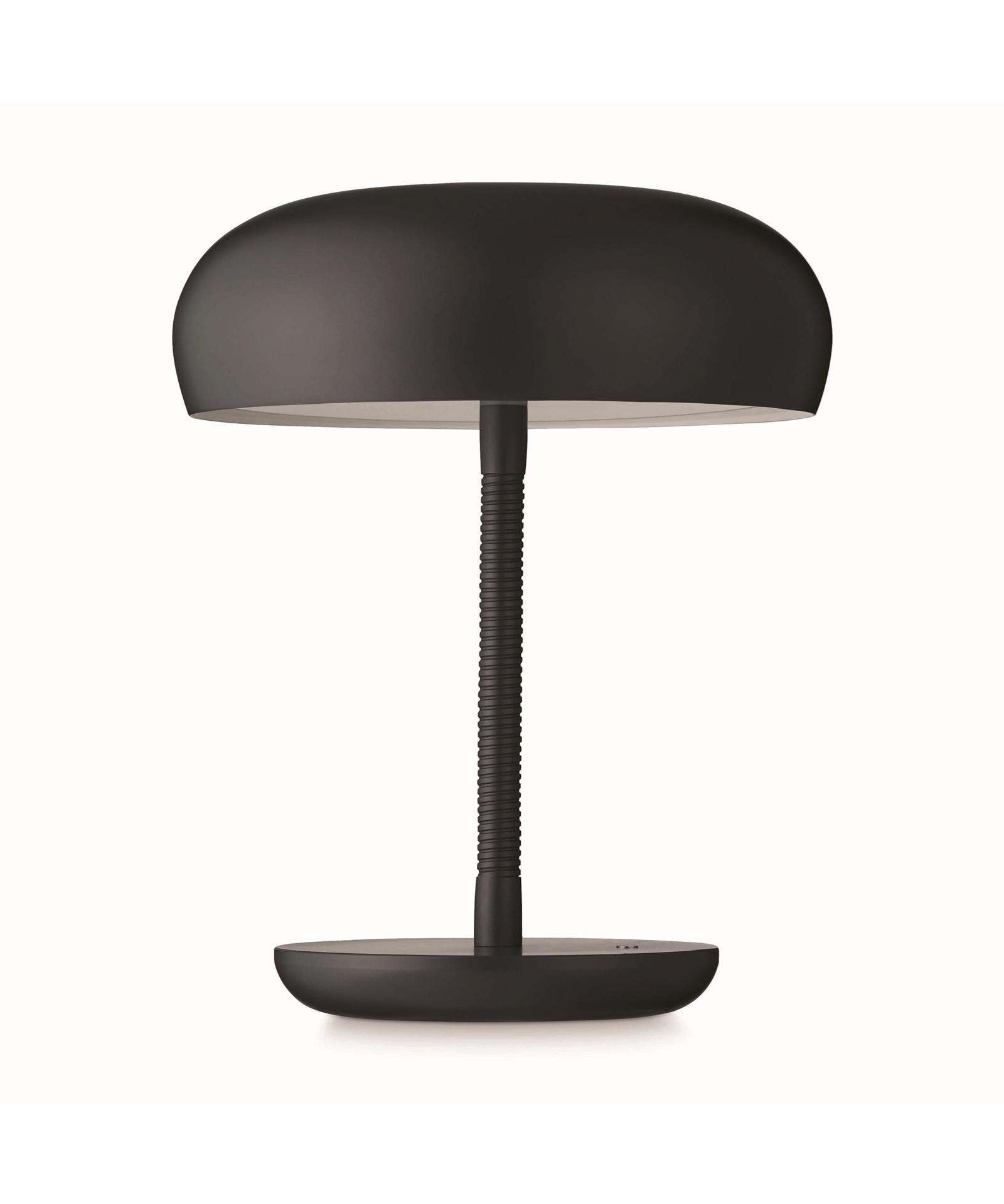 Watt A Lamp Bend Bend Pöytävalaisin Tumman Harmaa - Watt A Lamp