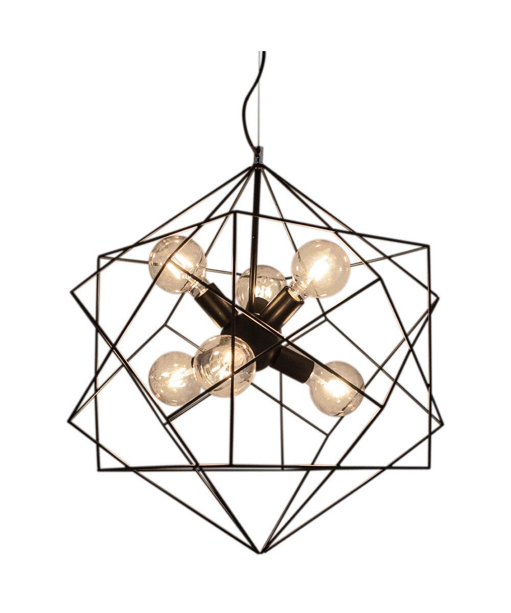 Rydéns Hexagon Riippuvalaisin Ø63 cm Musta - By Rydéns