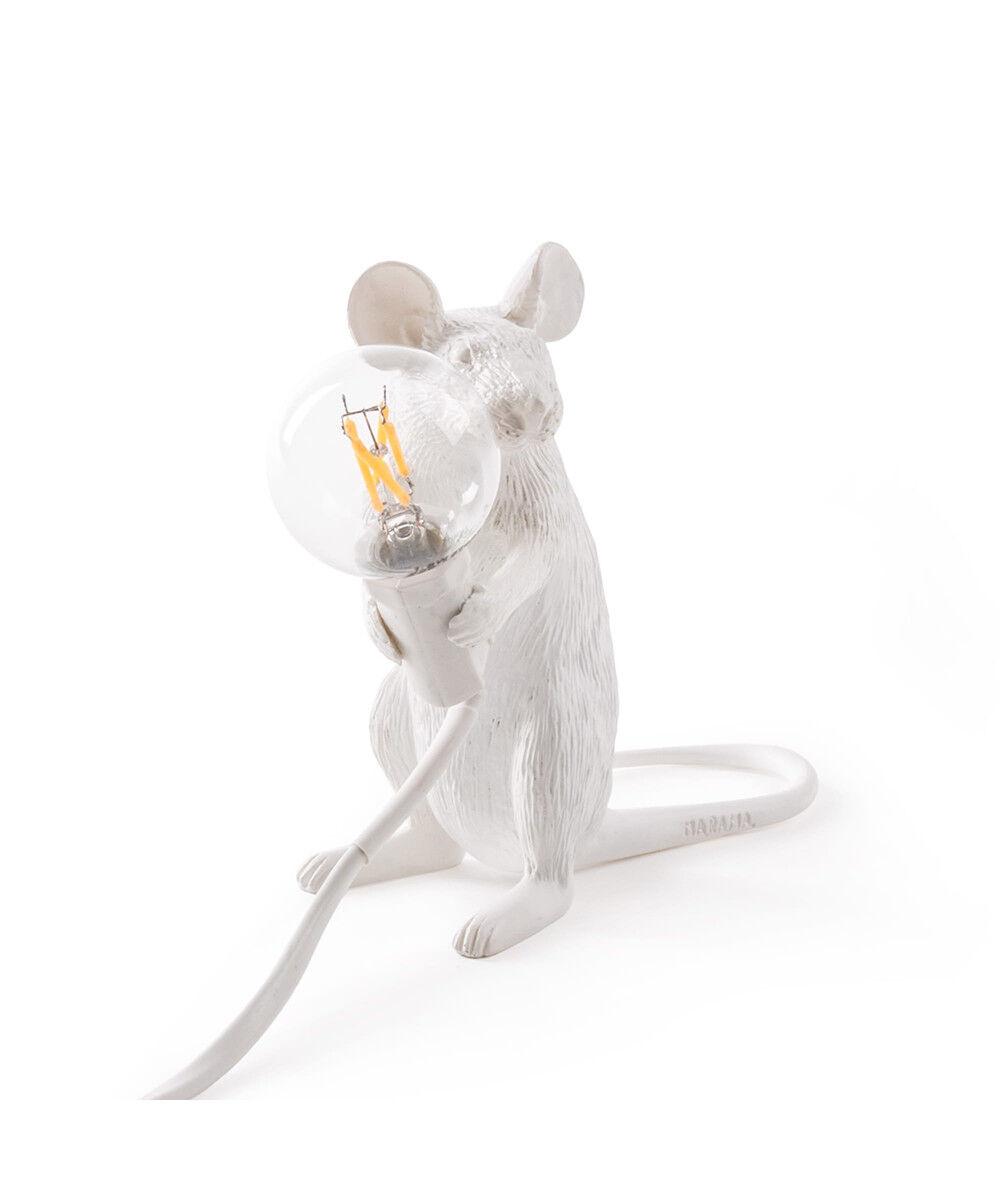 Seletti Mouse Lamp Mac Sitting Pöytävalaisin - Seletti