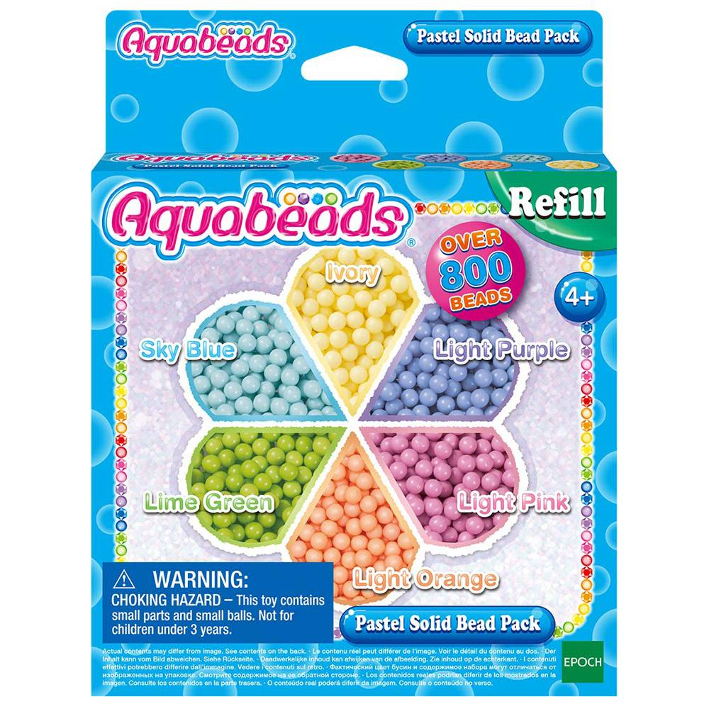 Aquabeads Pastel Solid Bead Pack (31630)
