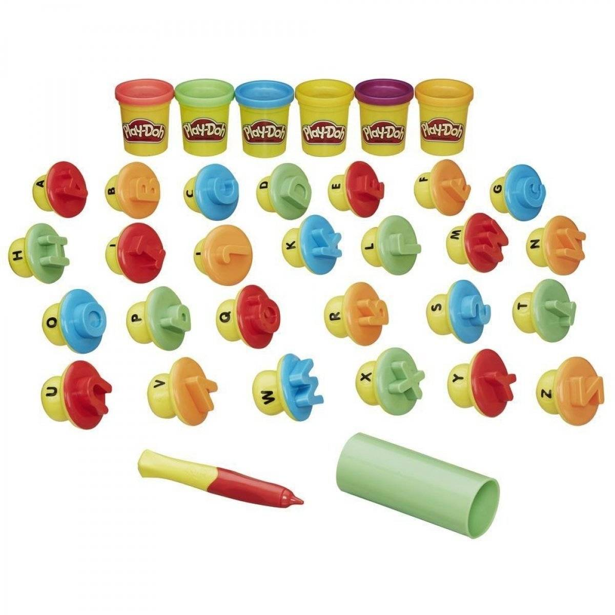 Play-Doh Letters and Languages (B3407)
