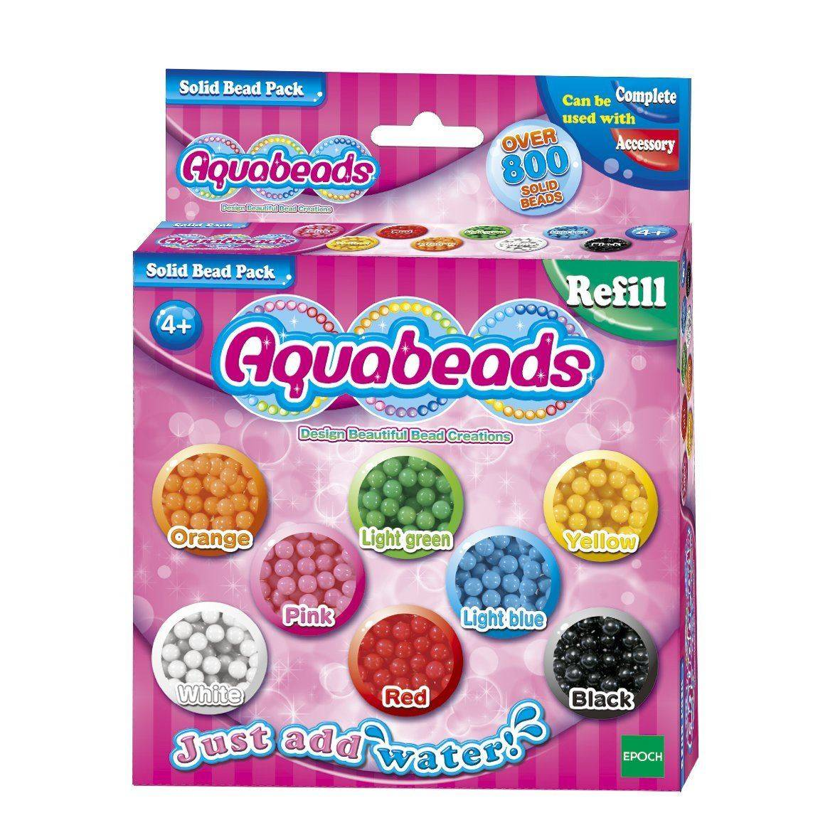 Aquabeads Solid Bead Pack Refill (79168)