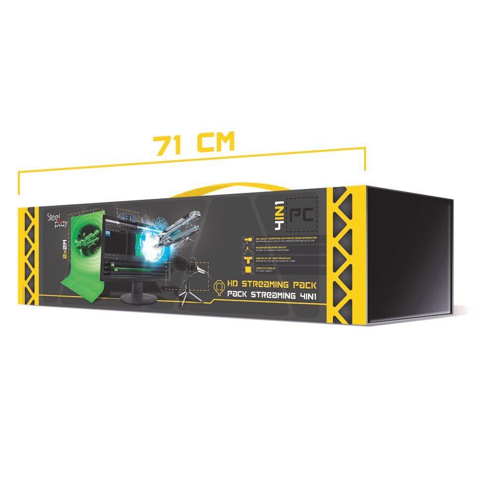 Steelplay Pack Streaming Pro HD 4 in 1