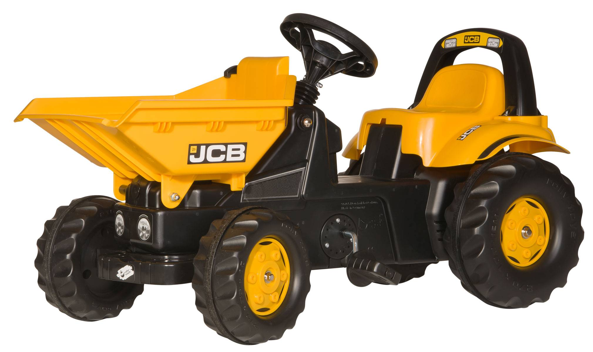 Rolly Toys JCB Dumper Pedal ride-on (024247)