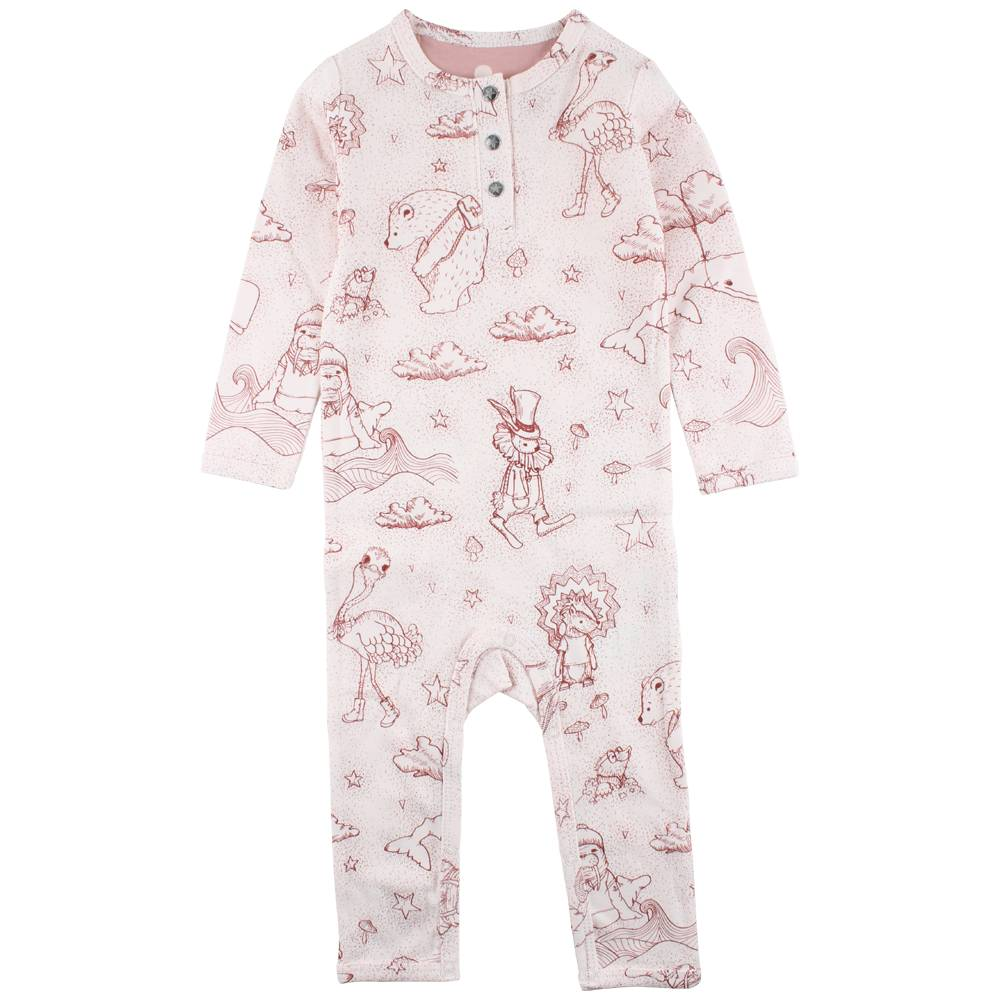 EN FANT Ink Playsuit-Oekotex