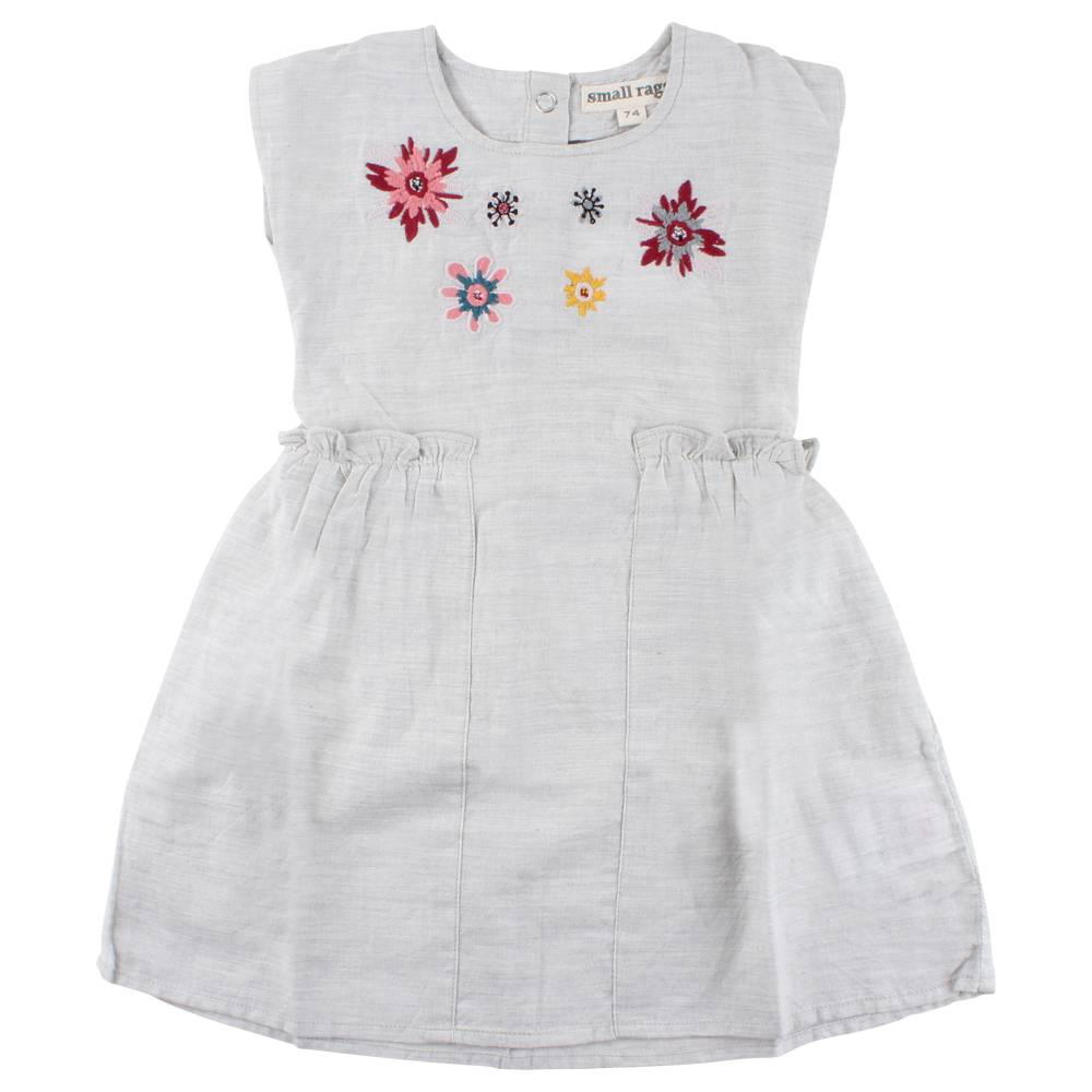 Small Rags Dress with Flowers