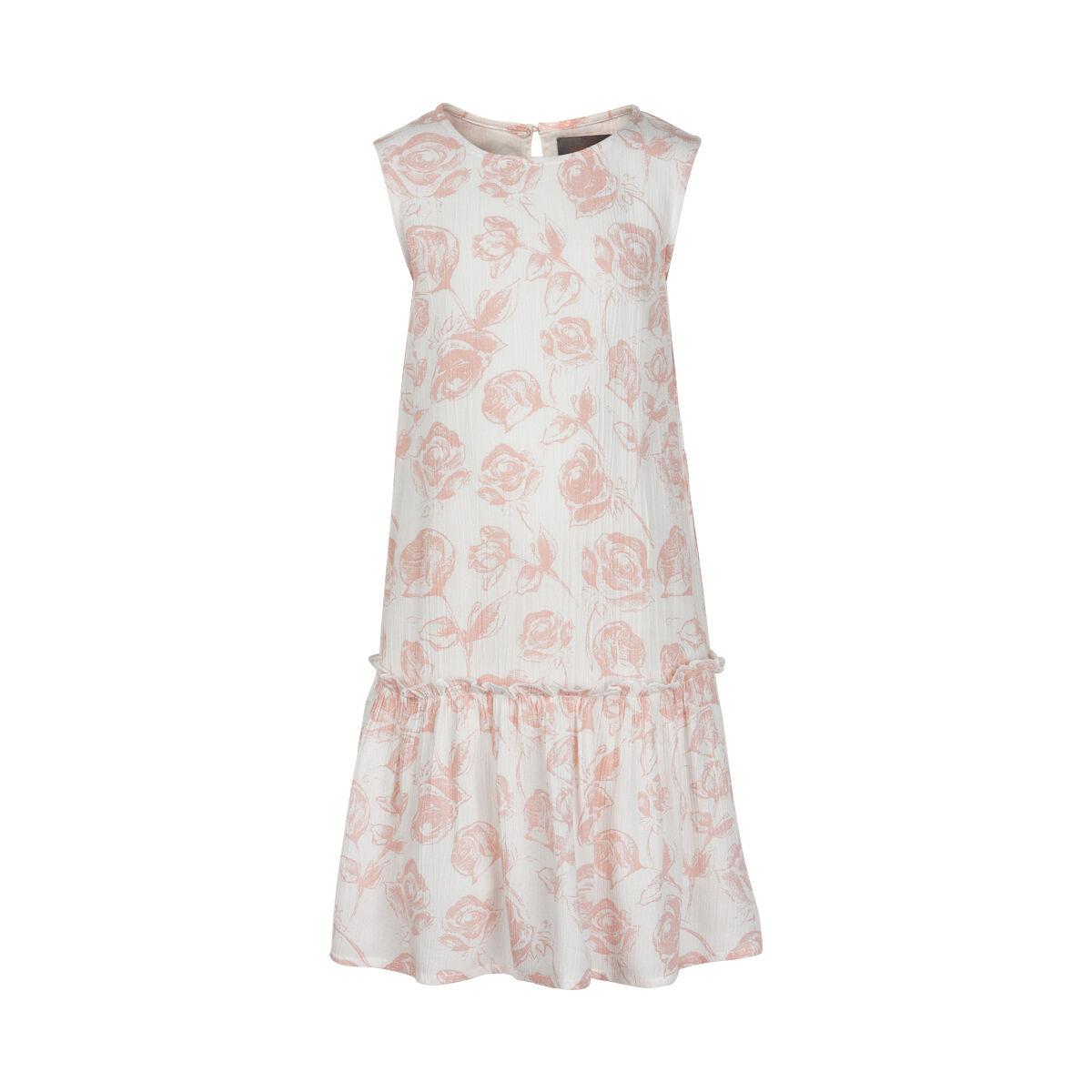 Creamie Dress w. Roses