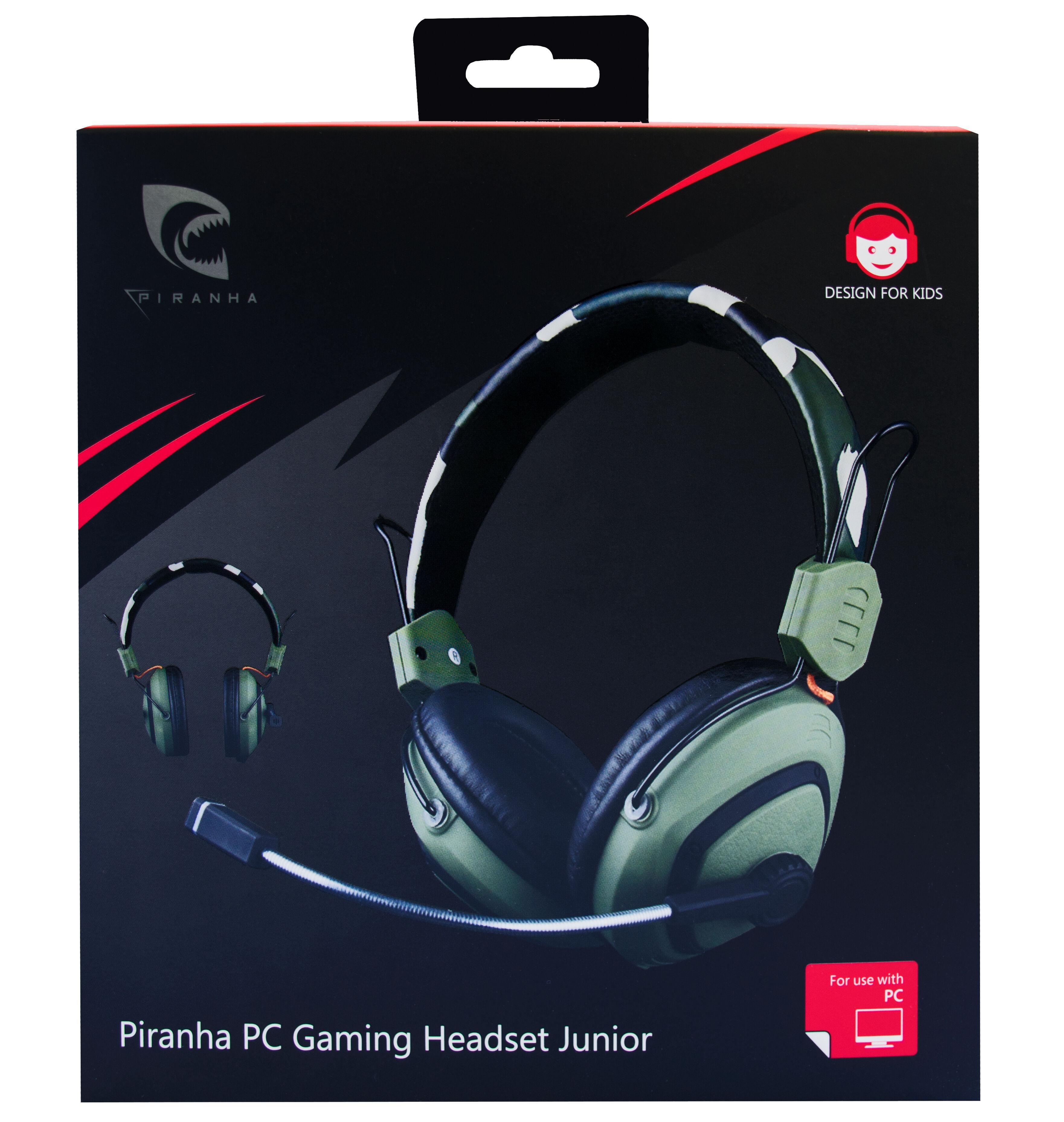 Piranha PC Gaming Headset Junior