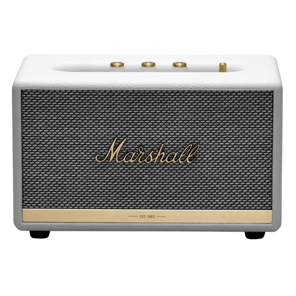 Marshall Acton II Portable Speaker White