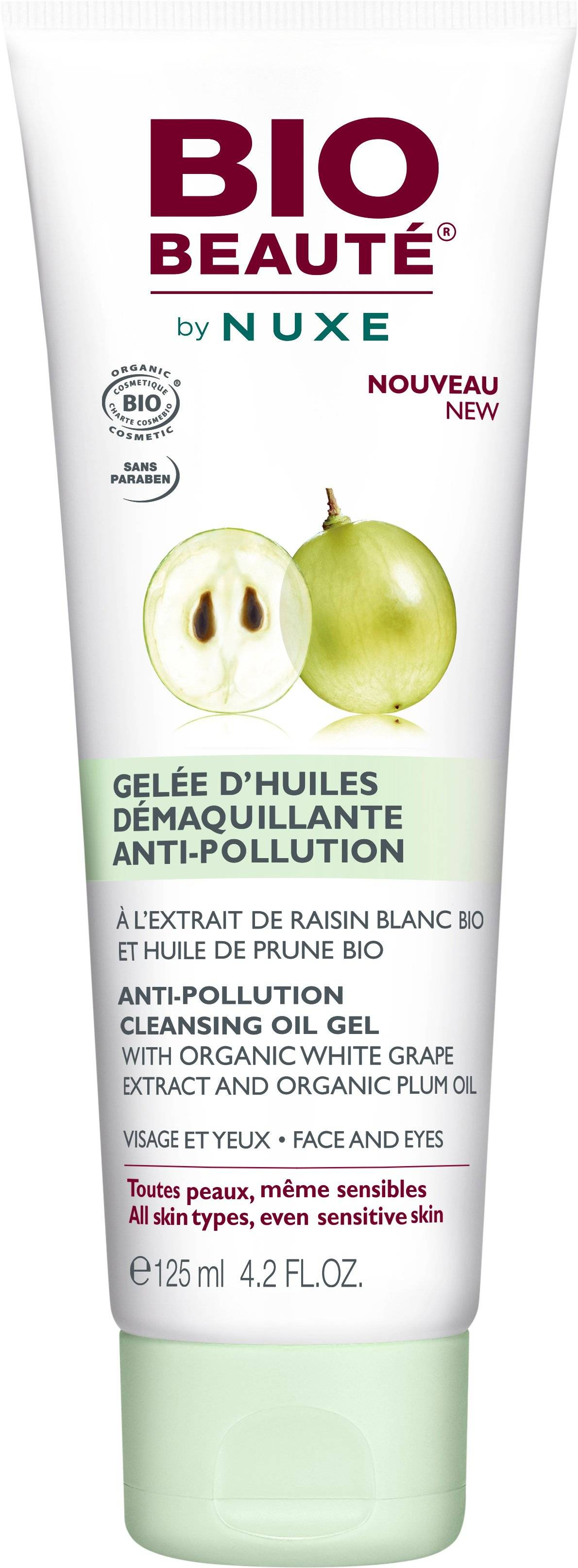 Bio Beauté by Nuxe Anti-Pollution Cleansing Oil Gel 125 ml