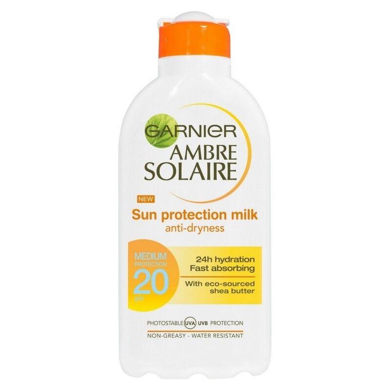 Garnier Ambre Solaire Sun Protection Milk 200ml SPF 20