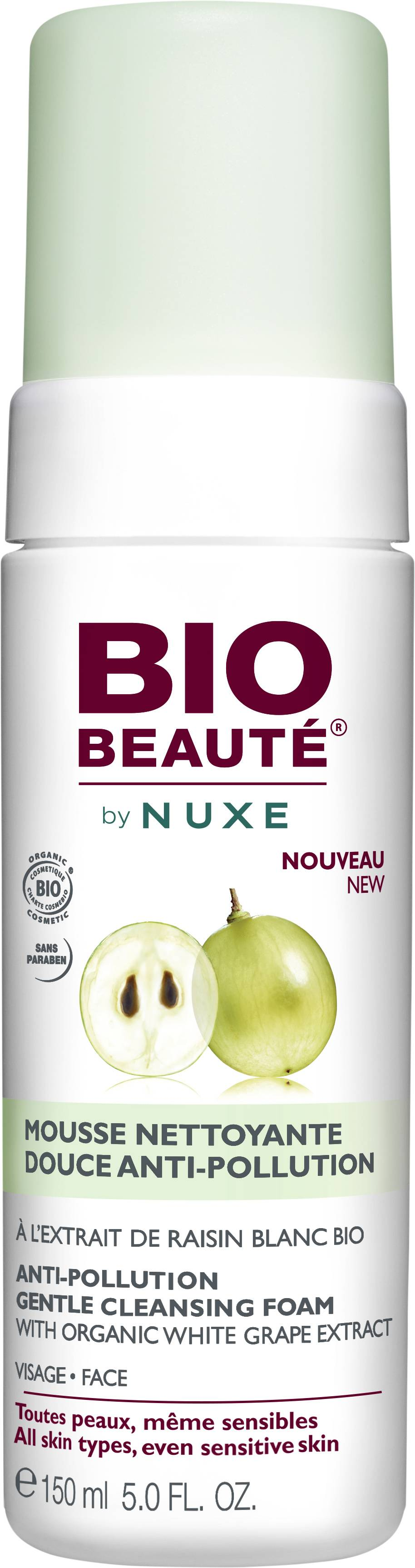 Bio Beauté by Nuxe Anti-Pollution Cleansing Foam 150 ml