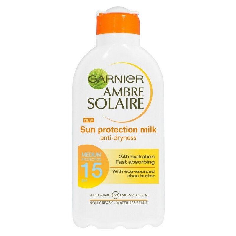 Garnier Ambre Solaire Sun Protection Milk 200 ml SPF 15