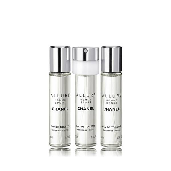 Chanel Allure Homme Sport EDT Refill 3 x 20 ml