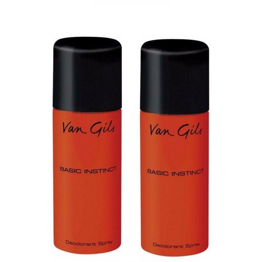 Van Gils 2x Basic Instinct Deodorant Spray 150 ml