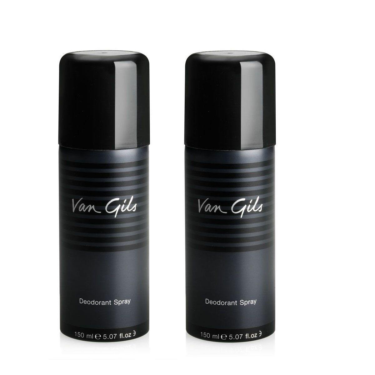 Van Gils 2x Strictly for Men Deodorant Spray 150 ml