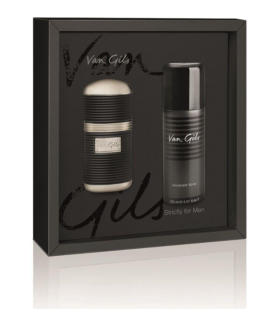 Van Gils Strictly for Men EDT 30 ml + Deospray Giftset