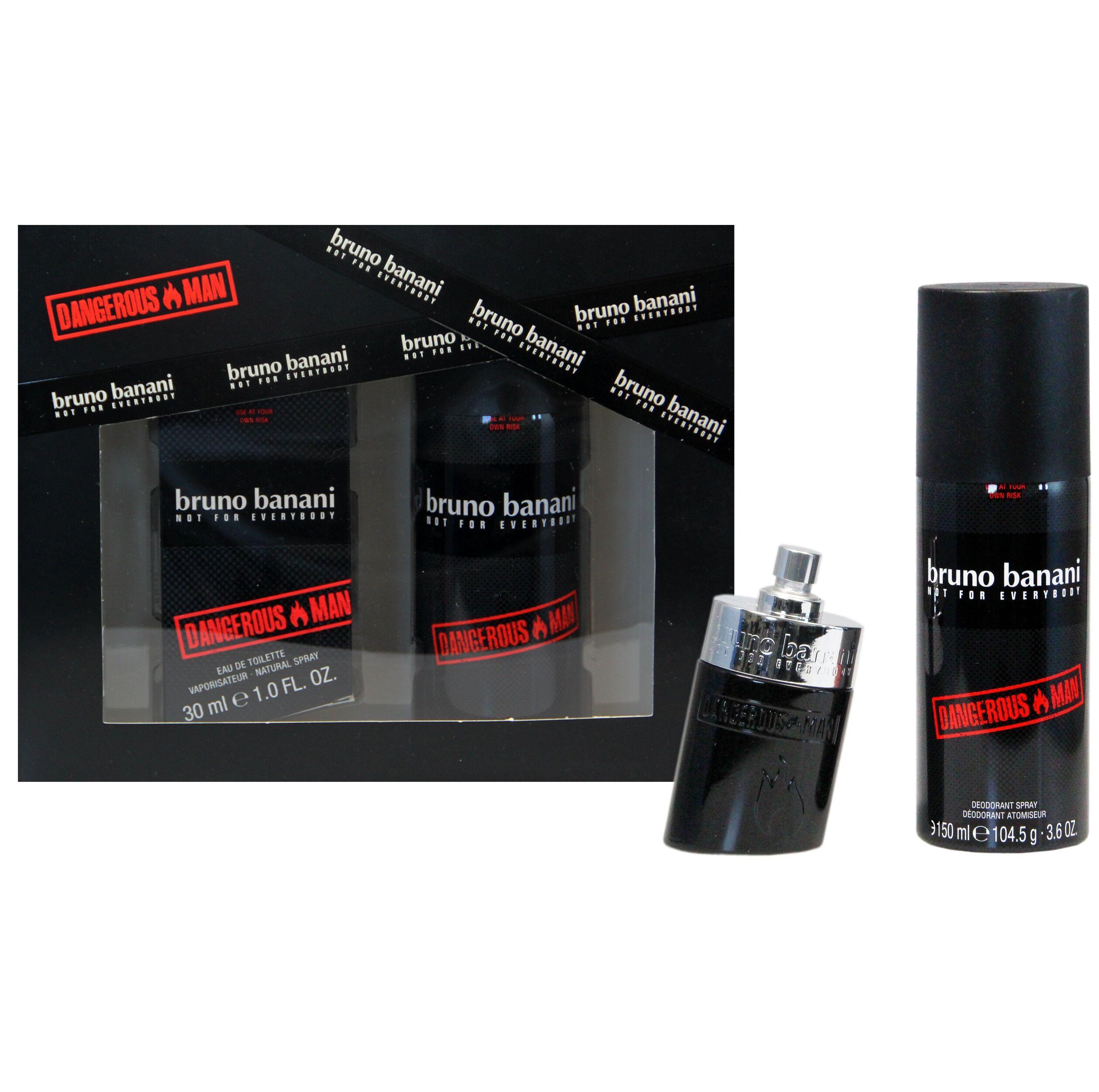 Bruno Banani Dangerous Man EDT 30 ml + Deo Spray 150 ml Giftset