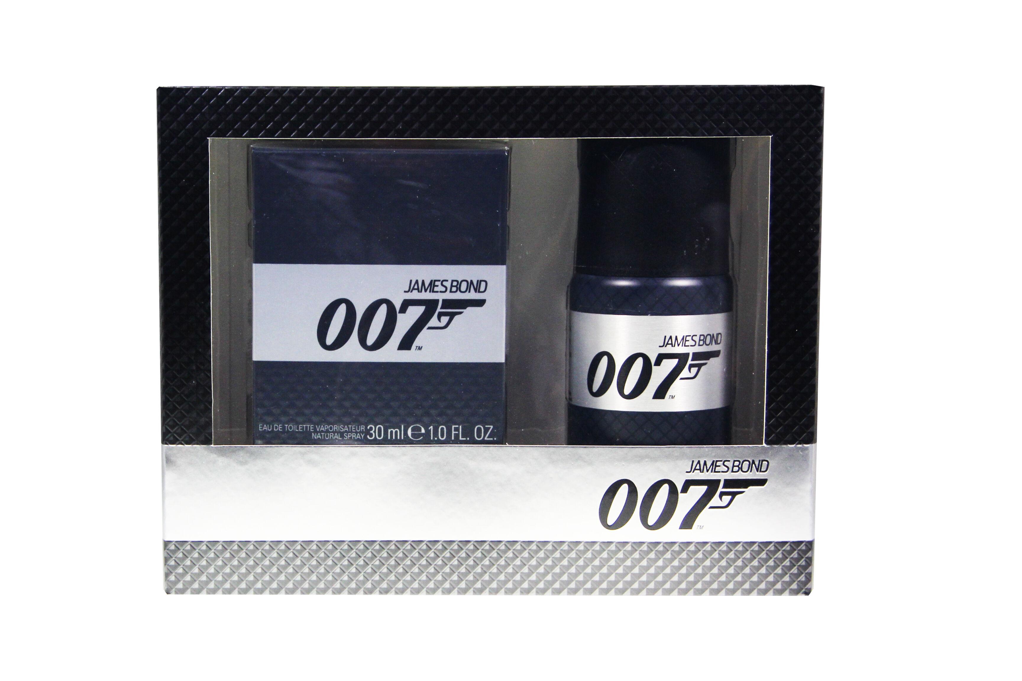 James Bond 007 EDT 30 ml + Deodorant Spray 150 ml Giftset