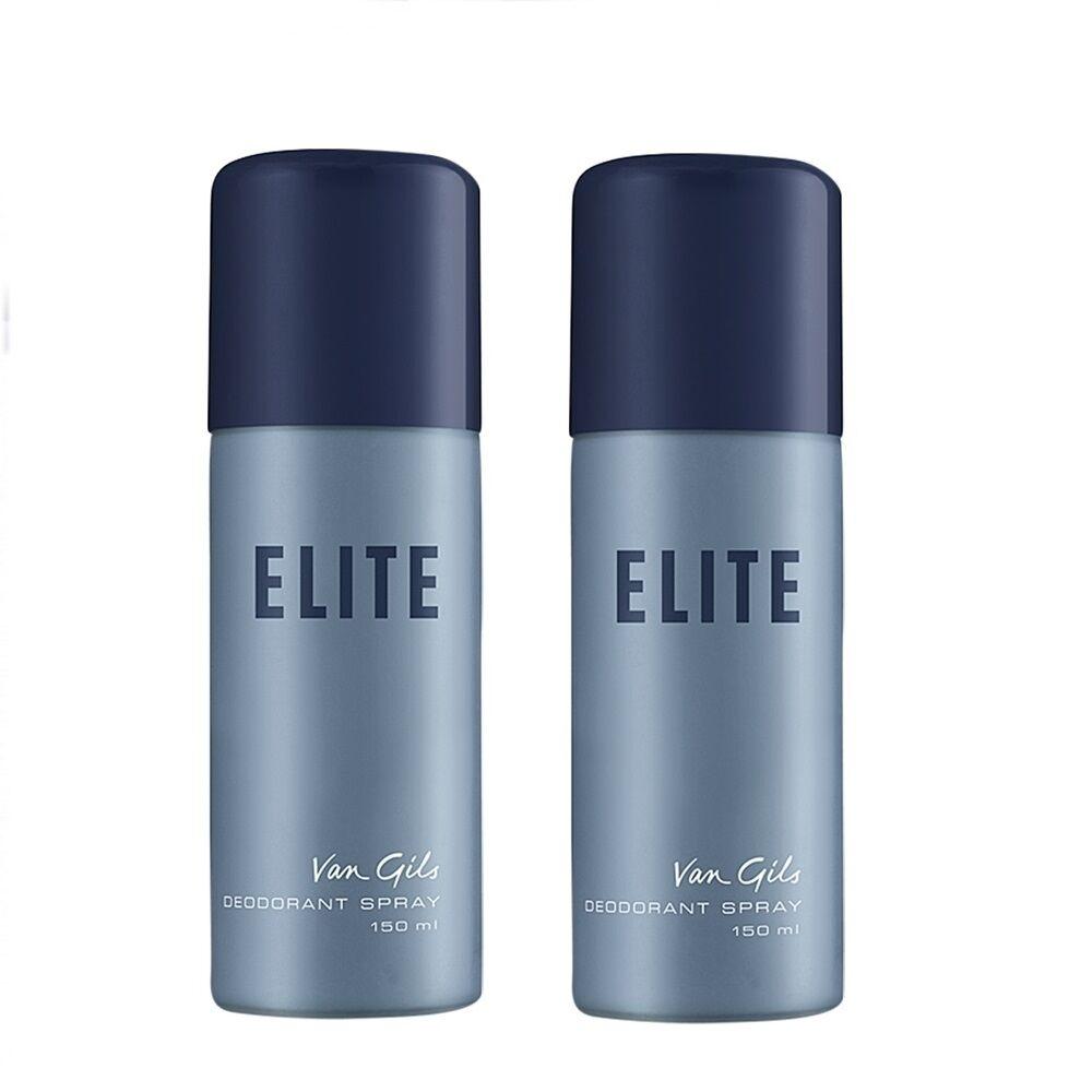 Van Gils 2x Elite Deodorant Spray 150 ml