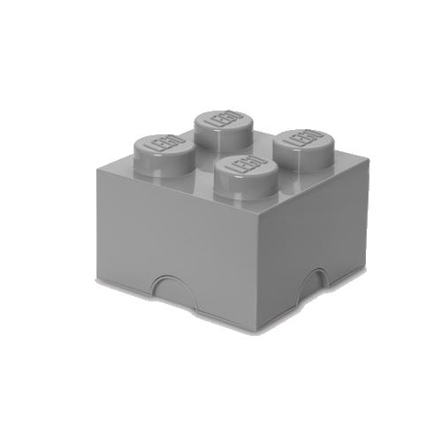 Lego Room Copenhagen LEGO Storeage Brick 4 Stone Grey (40031740)