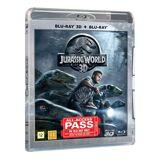 JURASSIC WORLD 3D+2D Blu ray