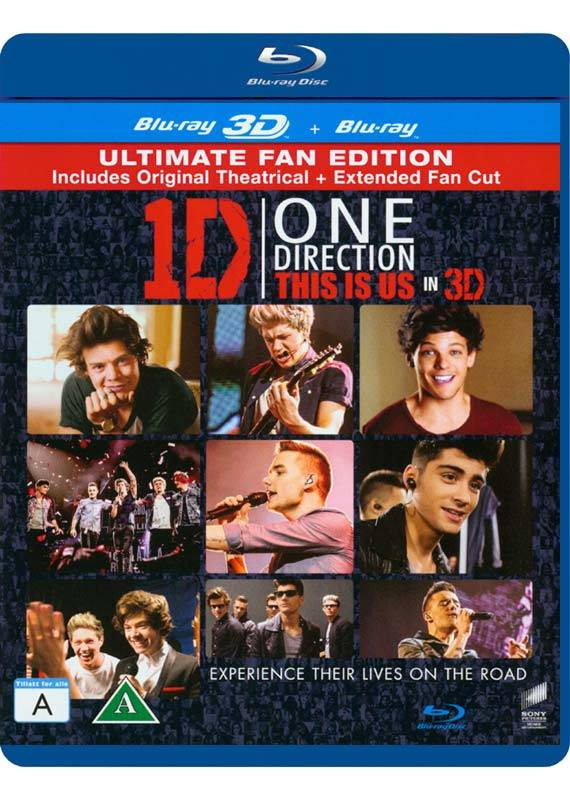 One Direction: This Is Us (3D Blu-Ray)