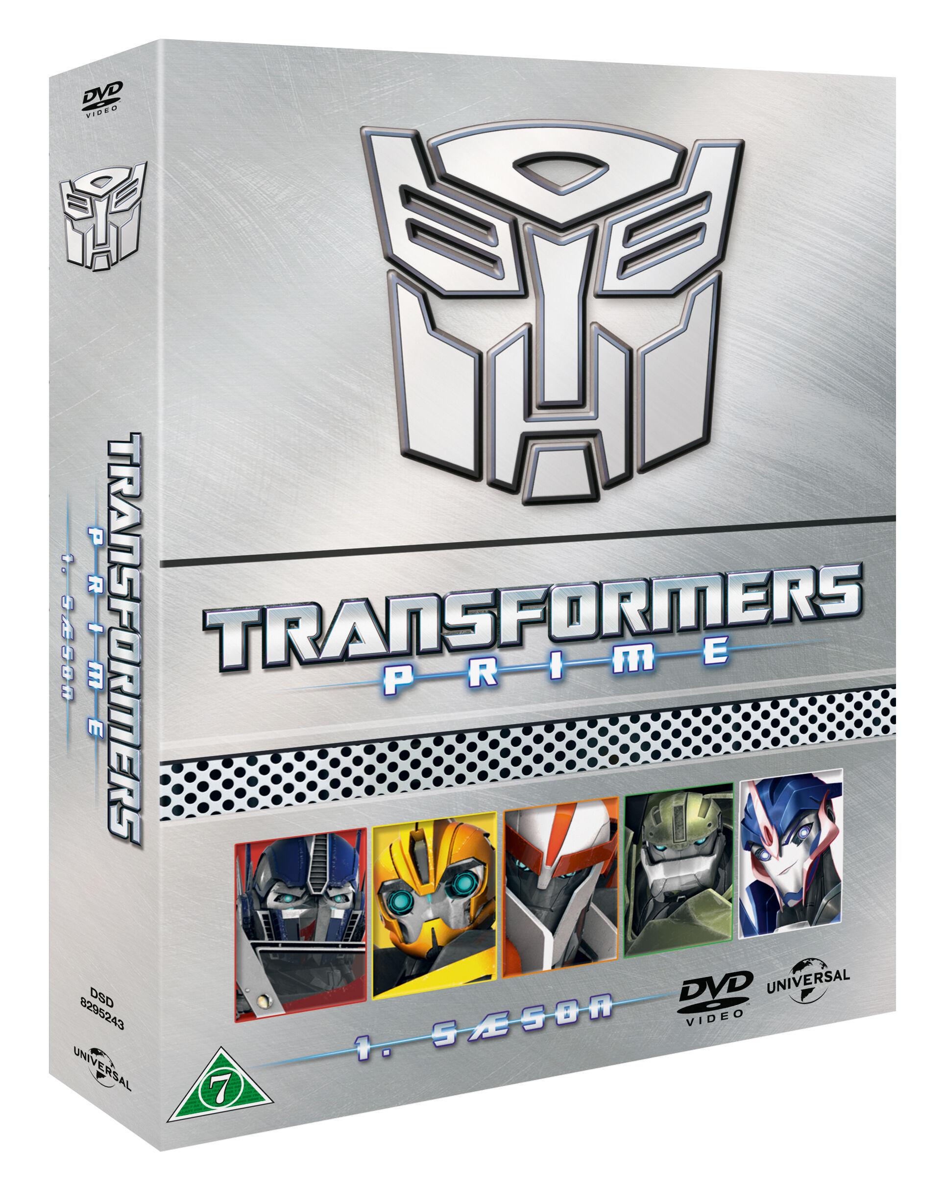 PRiME Transformers Prime Den Komplette Season 1 DVD