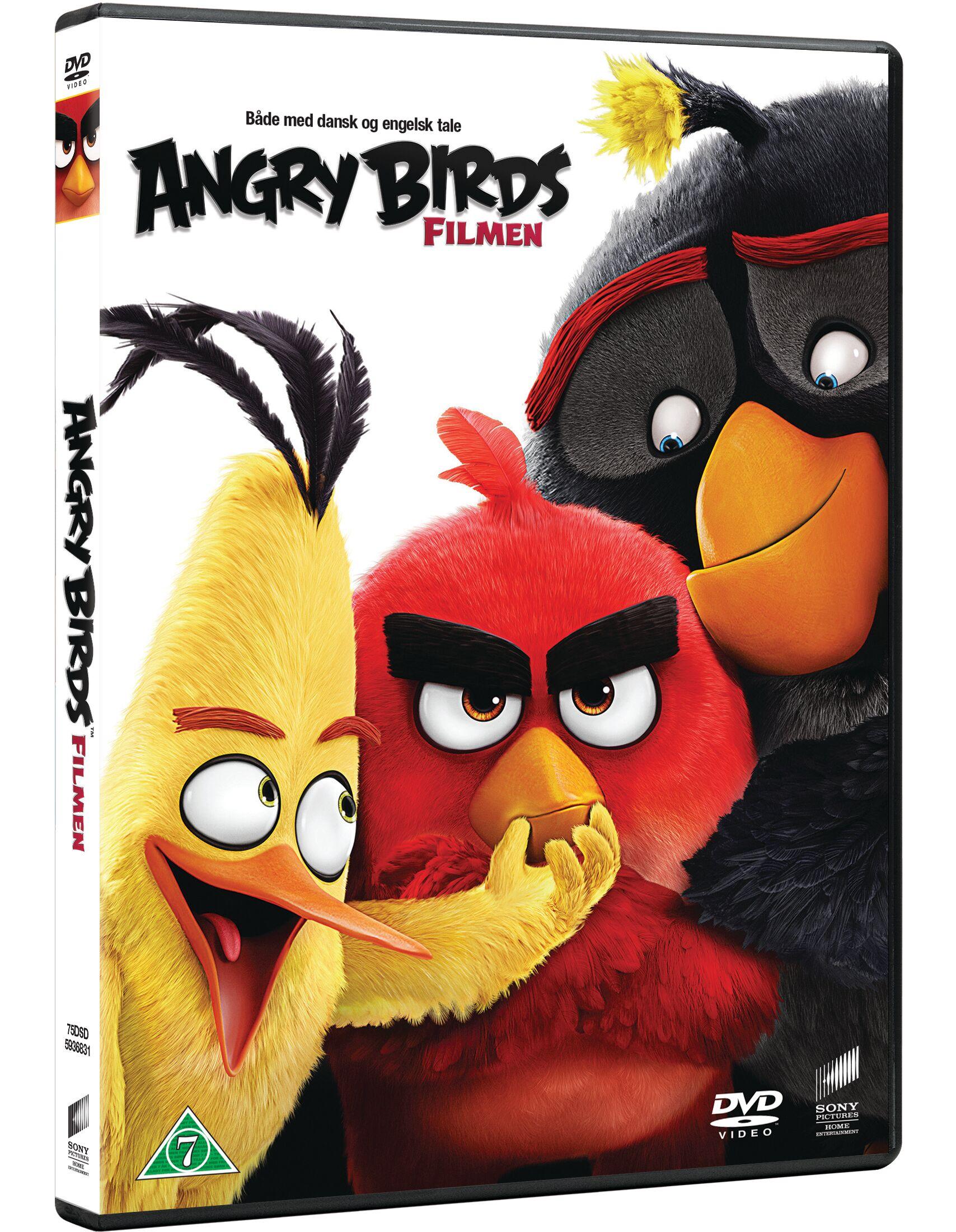 Angry Birds The Movie DVD