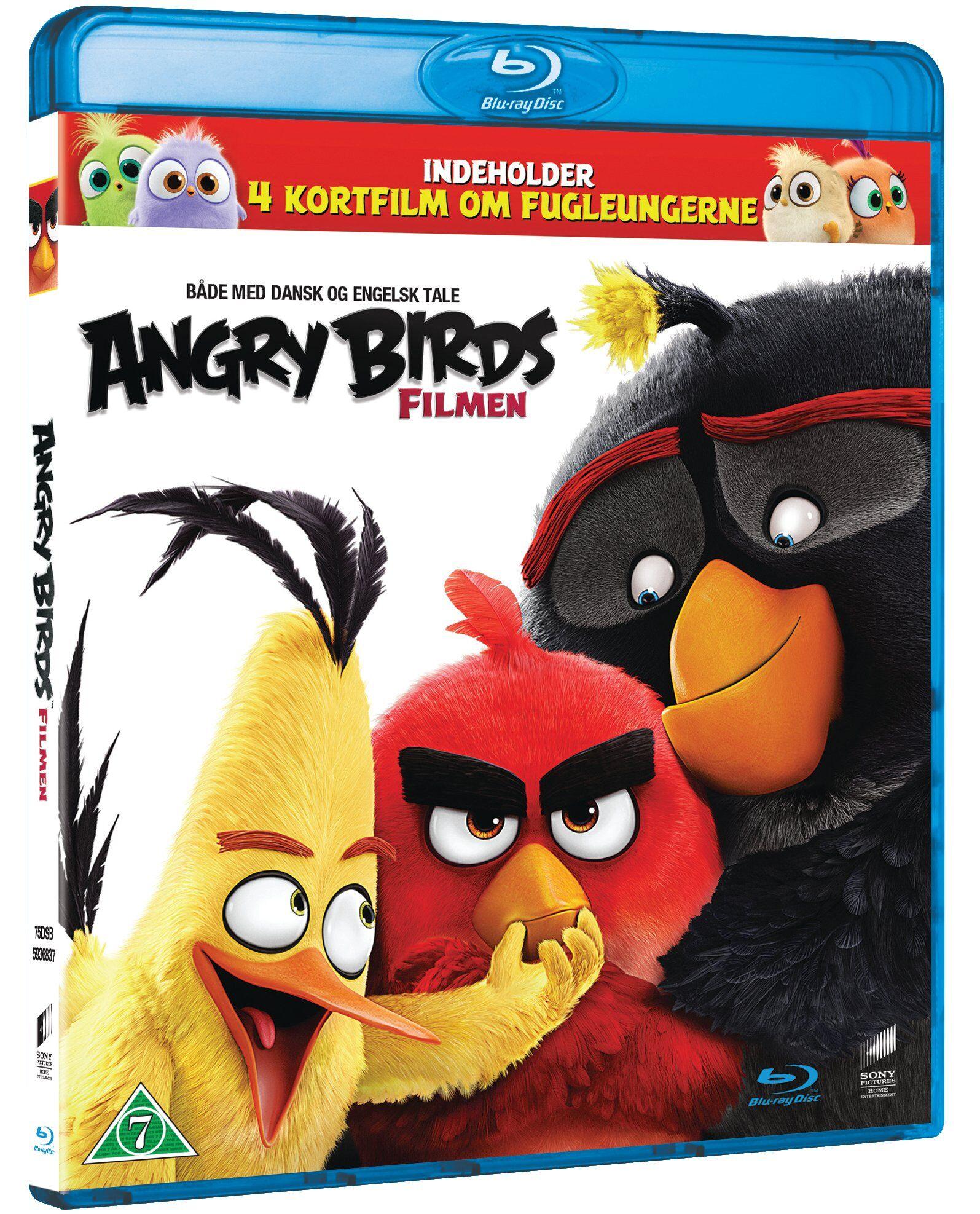 Angry Birds The Movie (Blu-Ray)