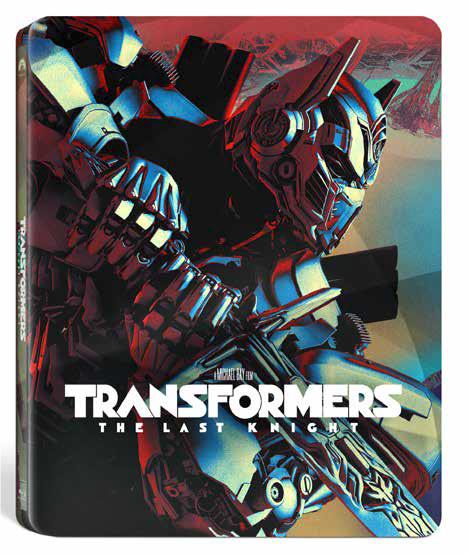 Transformers: The Last Knight Steelbook (3D Blu-Ray)