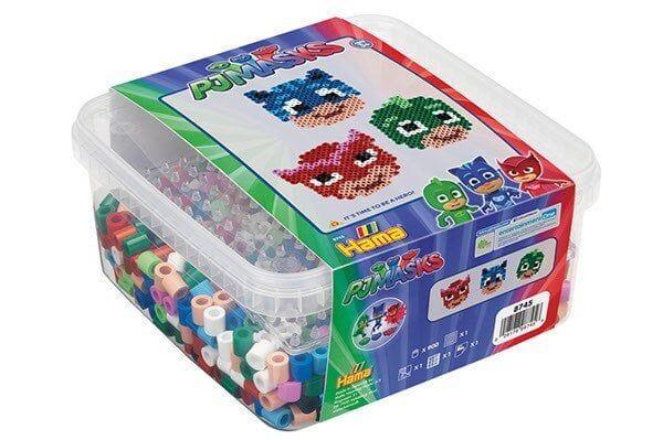 Hama Pj Masks Maxi Beads w Accessories (388745)