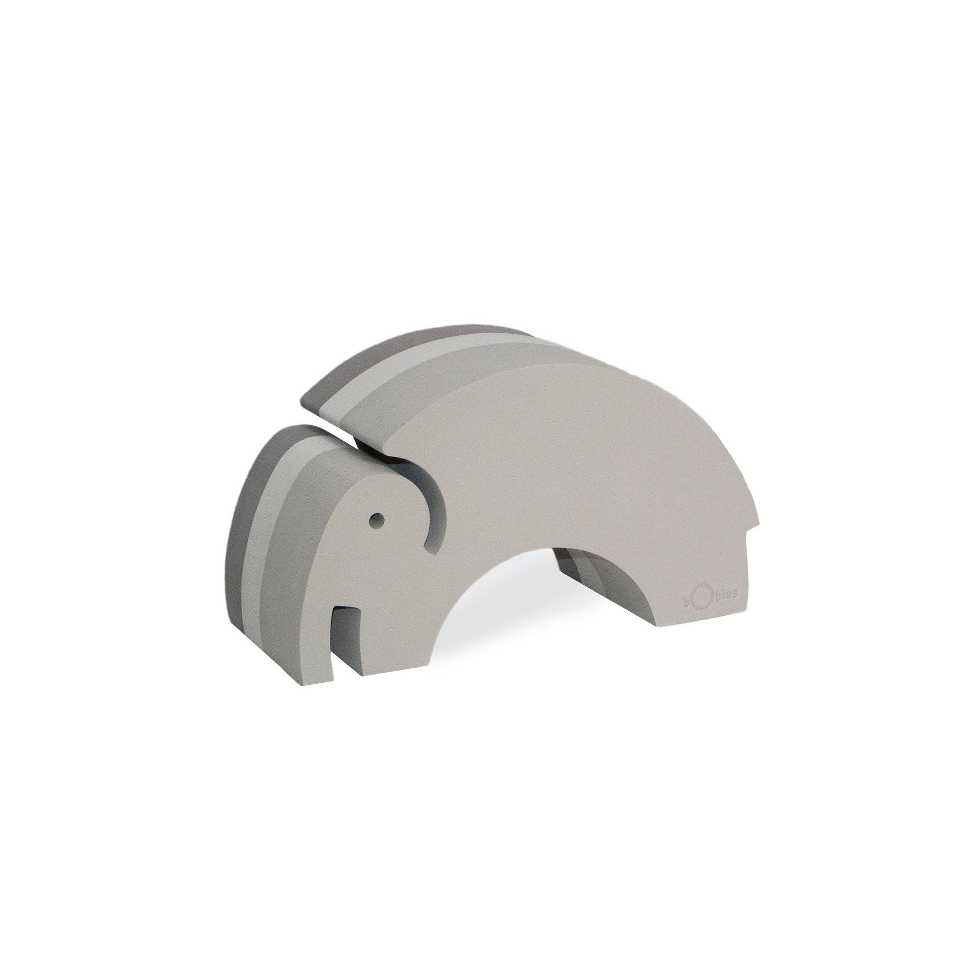 bObles Medium Elephant, Grey NEW