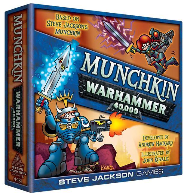 Munchkin Warhammer 40.000 Boardgame (English)