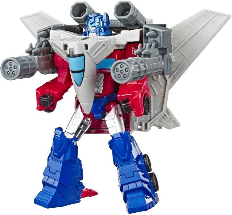 Transformers Cyberverse Spark Armor Optimus Prime (E4328)