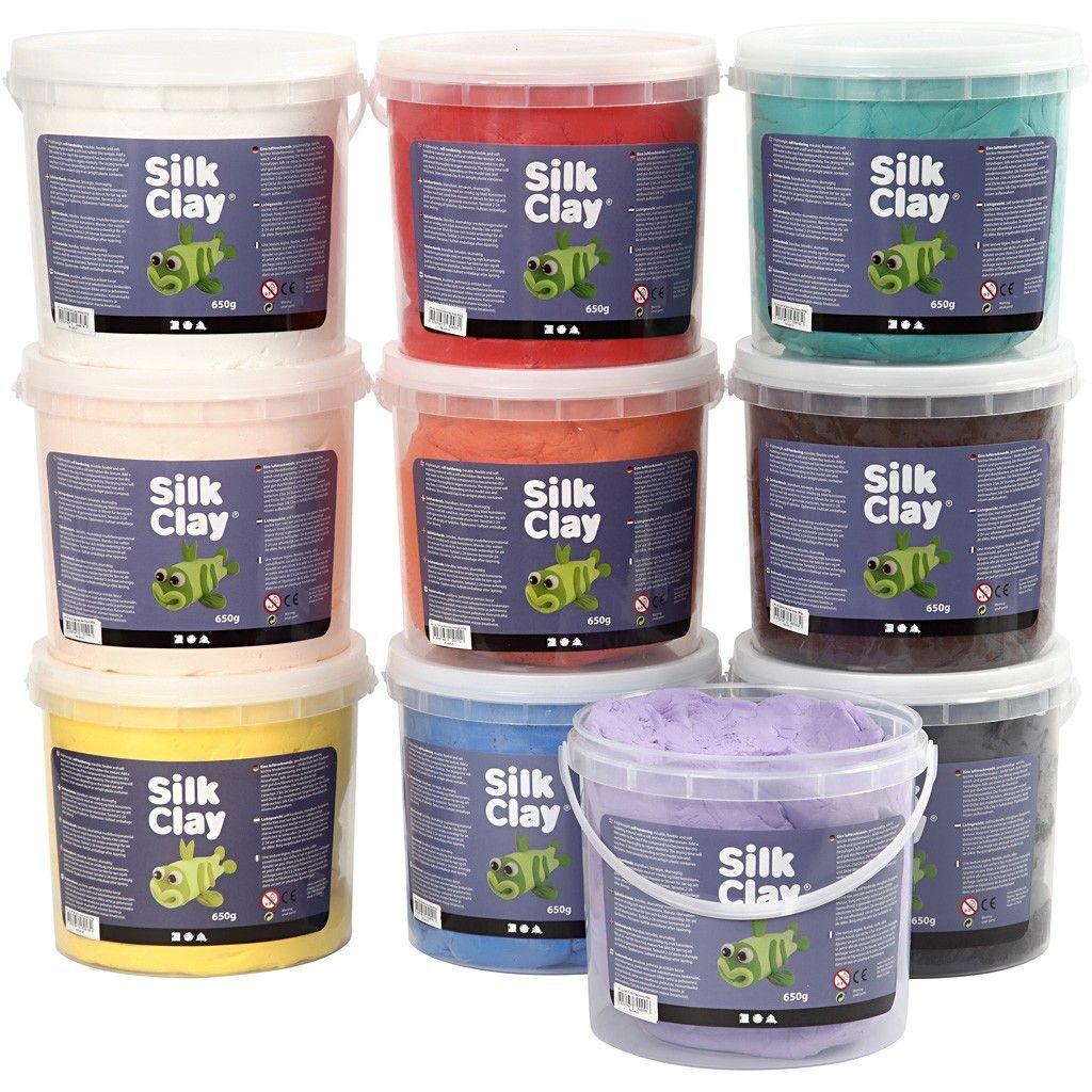 Silk Clay Värilajtelma 10x650g