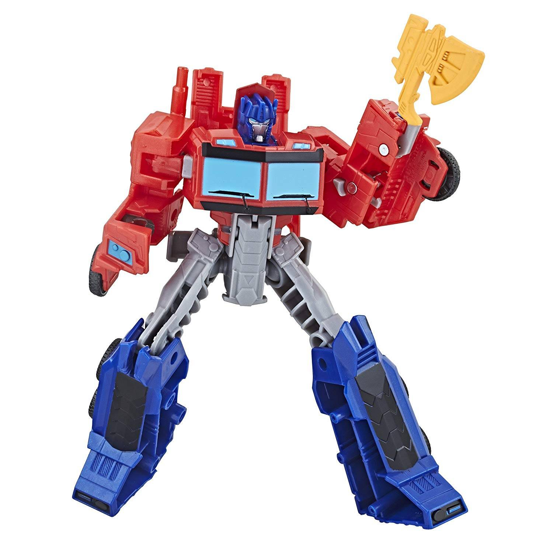 PRiME Transformers Cyberverse Warrior Optimus Prime 16cm (E1901)
