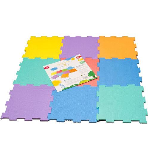 Happy Baby Soft Floor mats 9 pcs, 30x30 cm (502085)