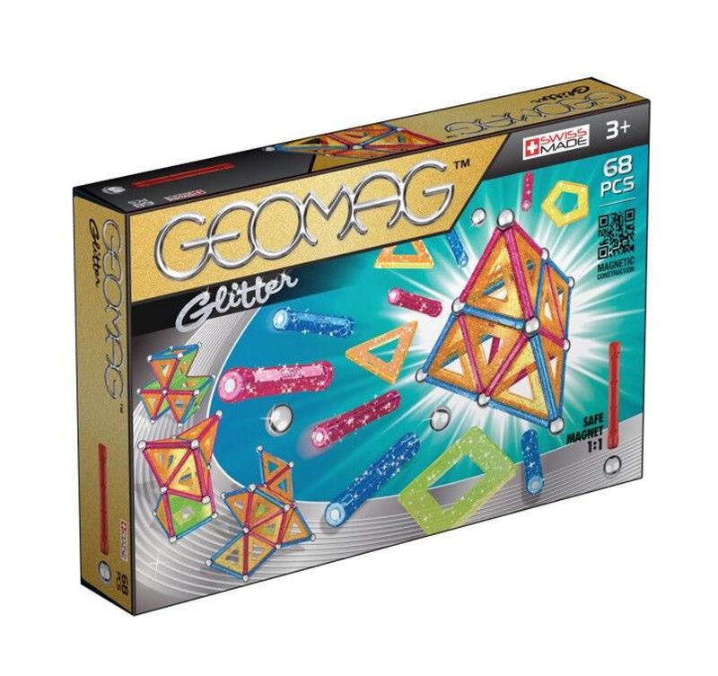 Geomag Glitter Panels 68 Pcs (533)