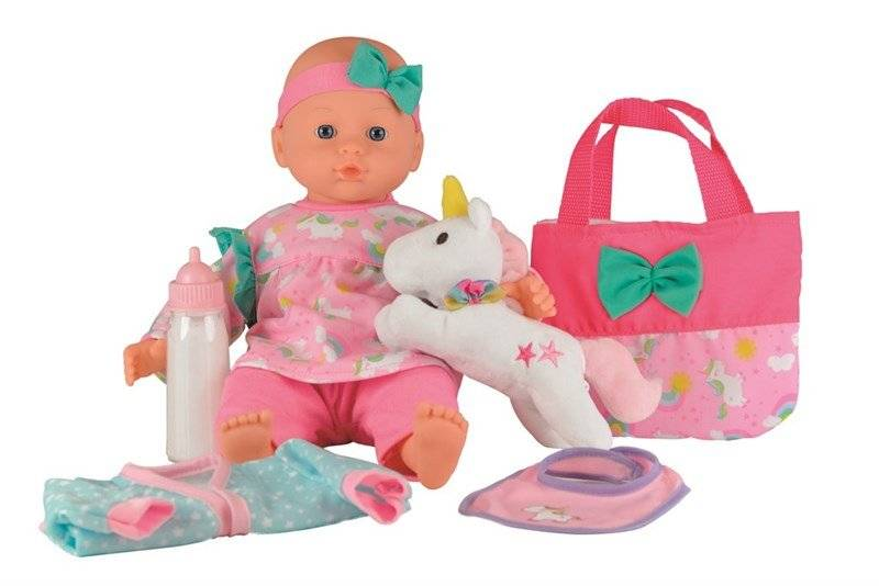 Happy Friend Sanne doll with unicorn, 36 cm (504210)
