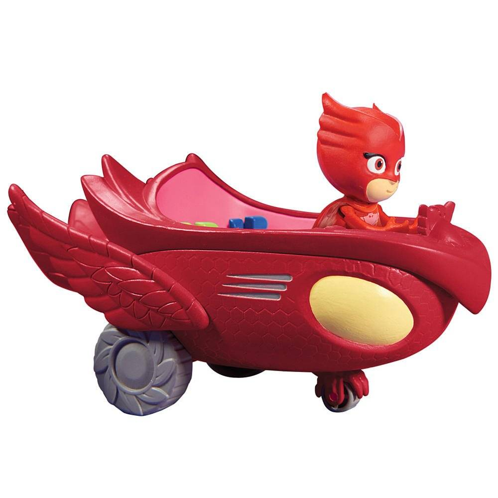 PJ Masks Basic Vehicle Play Set Owlette & Owl Glider