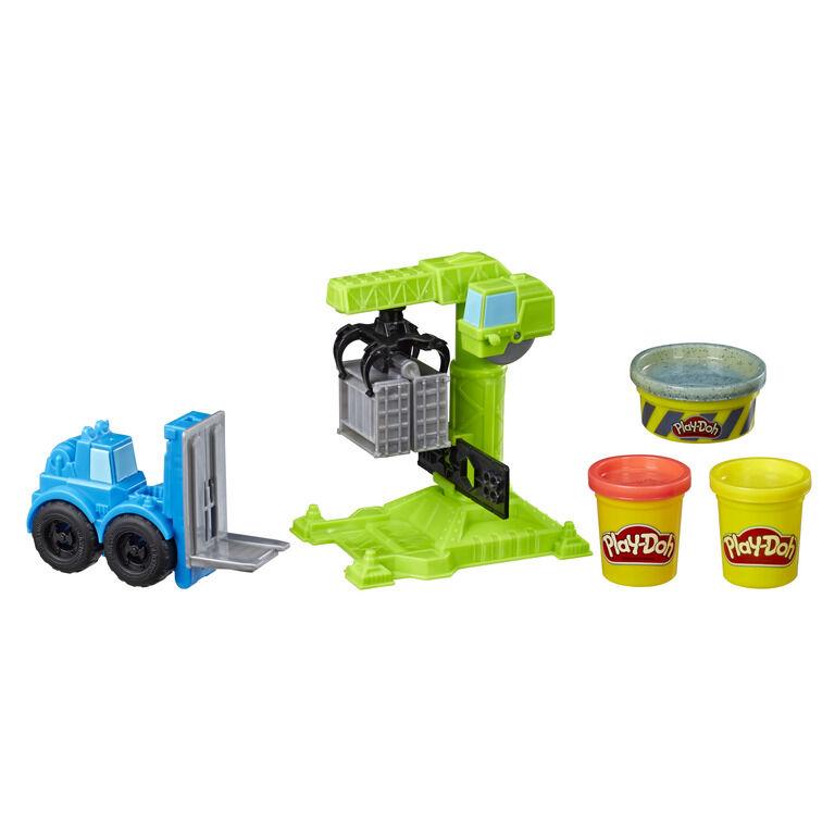 Play-Doh Crane And Forklift (E5400EU4)