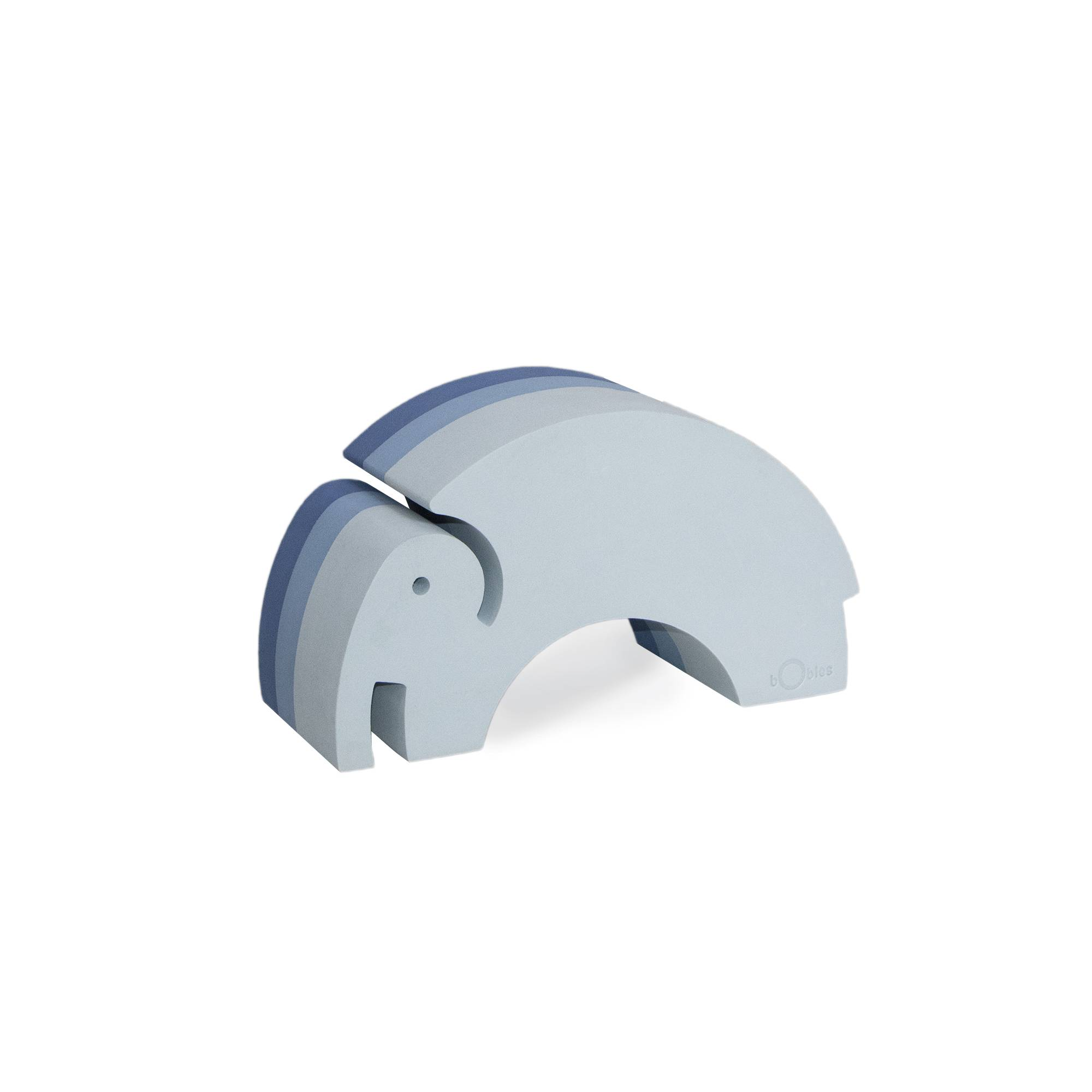 bObles Medium Elephant, Blue NEW