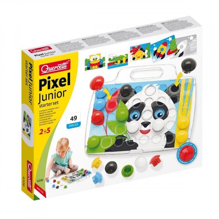 Quercetti Fantacolour Pixel Junior Basics (28-4206-00)